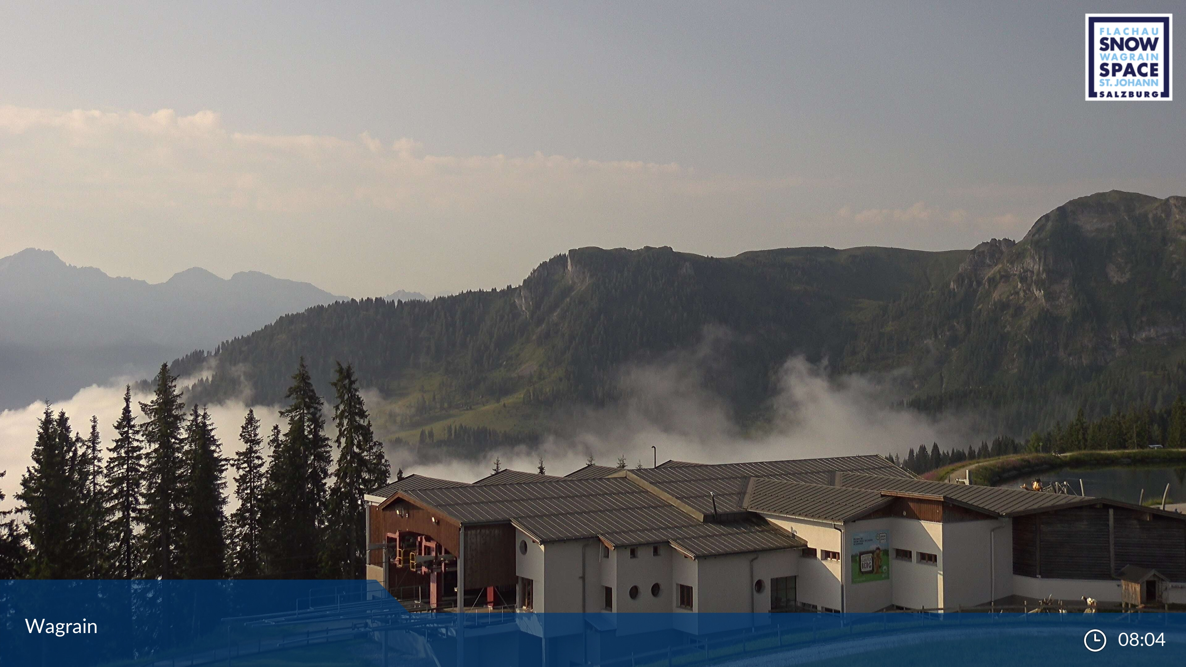 Wagrain webcam - Grafenberg ski station