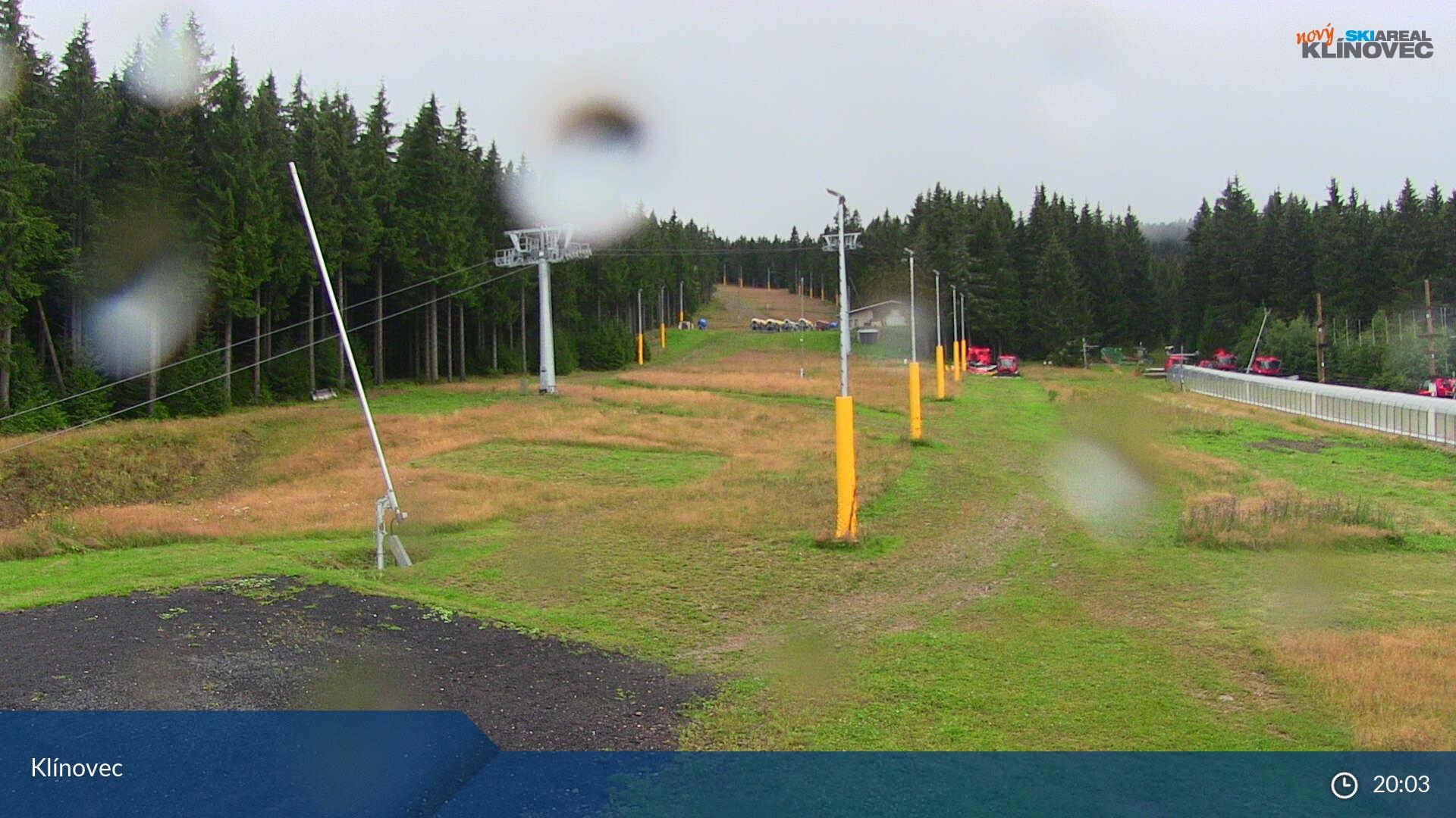 Klinovec panorama webcam