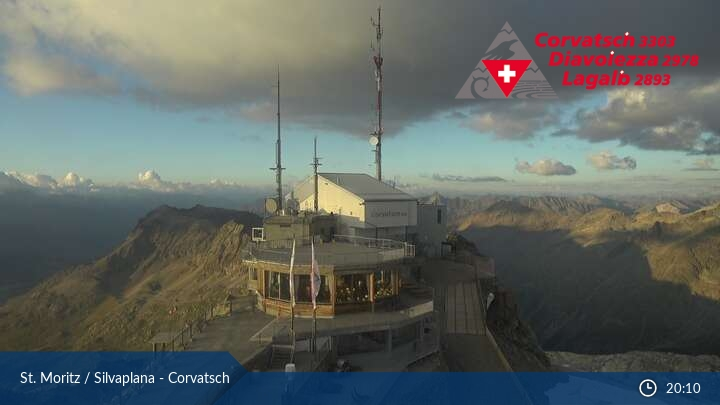 Webcam <br><span>Webcam Corvatsch</span>