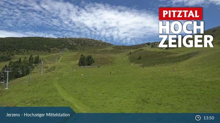 Pitztal - Imst und Umgebung - Tirol - Jerzens - Hochzeiger Mittelstation