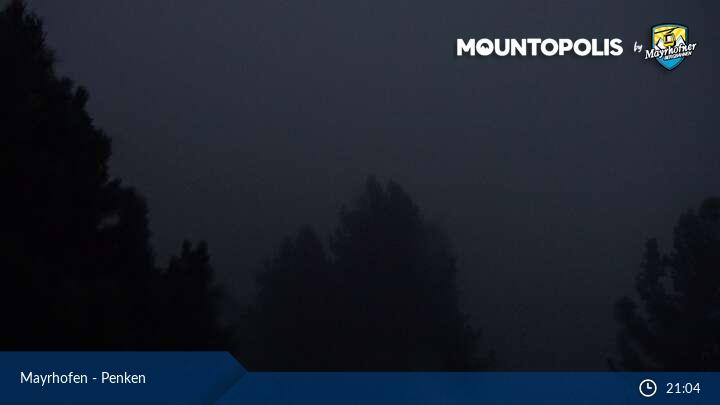 Mayrhofen webcam - Penken ski station
