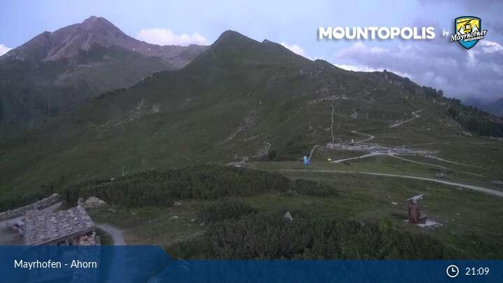 Mayrhofen webcam - Ahorn ski station