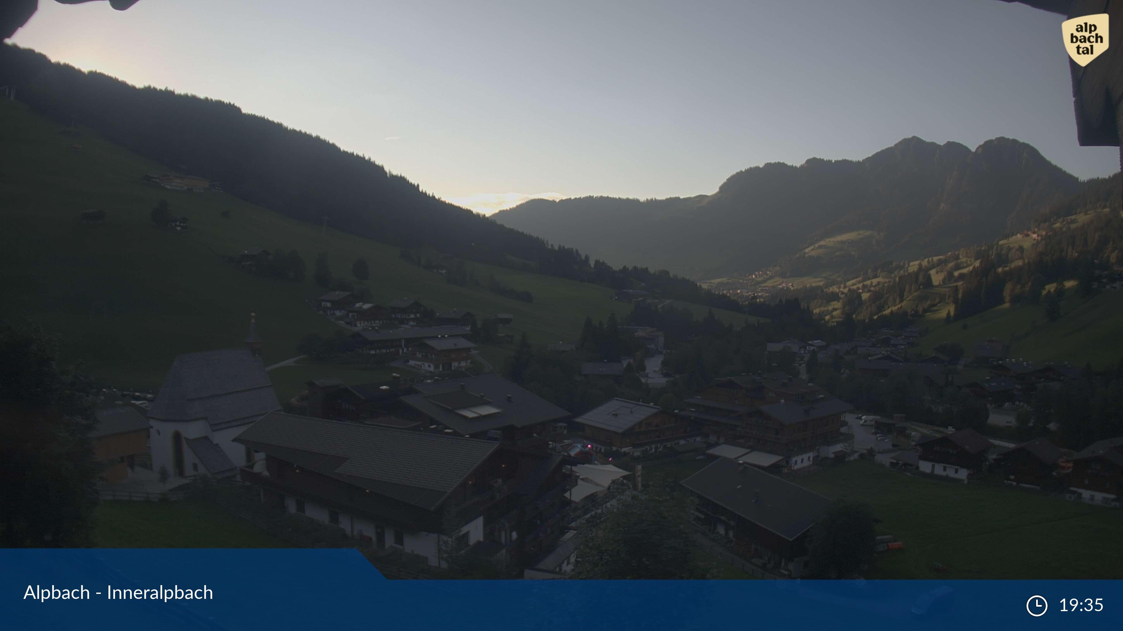 Live Alpbahtal web cam - Interalpbach