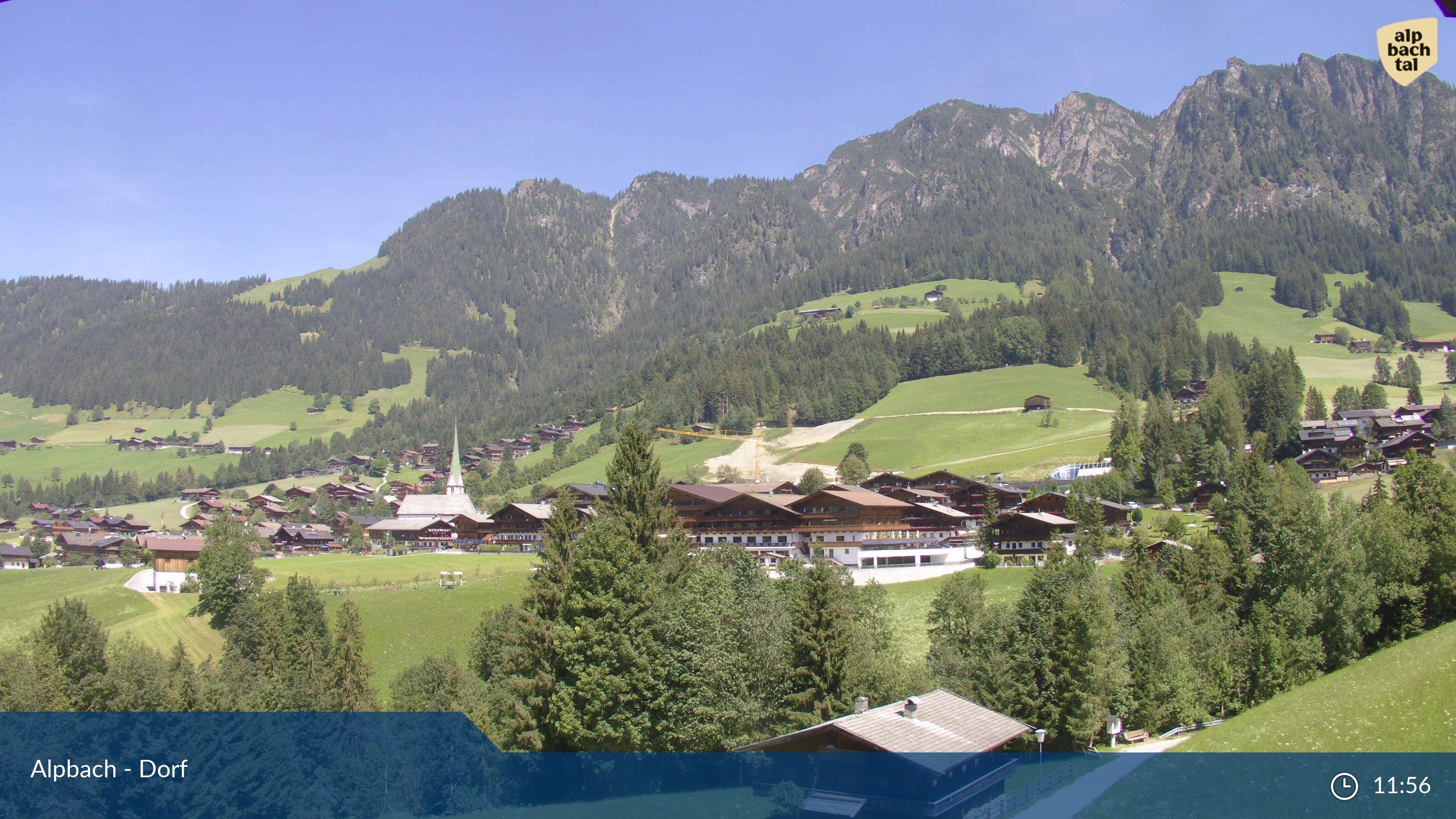 Alpbach village webcam
