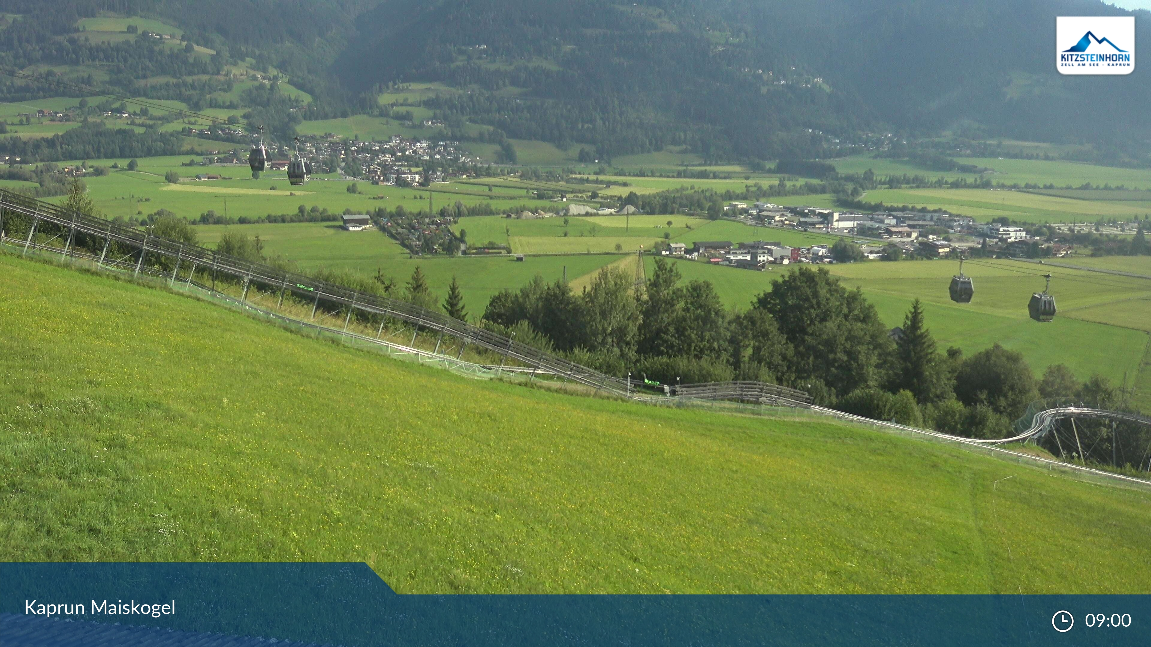 Maiskogel webcam - village panorama 870 m