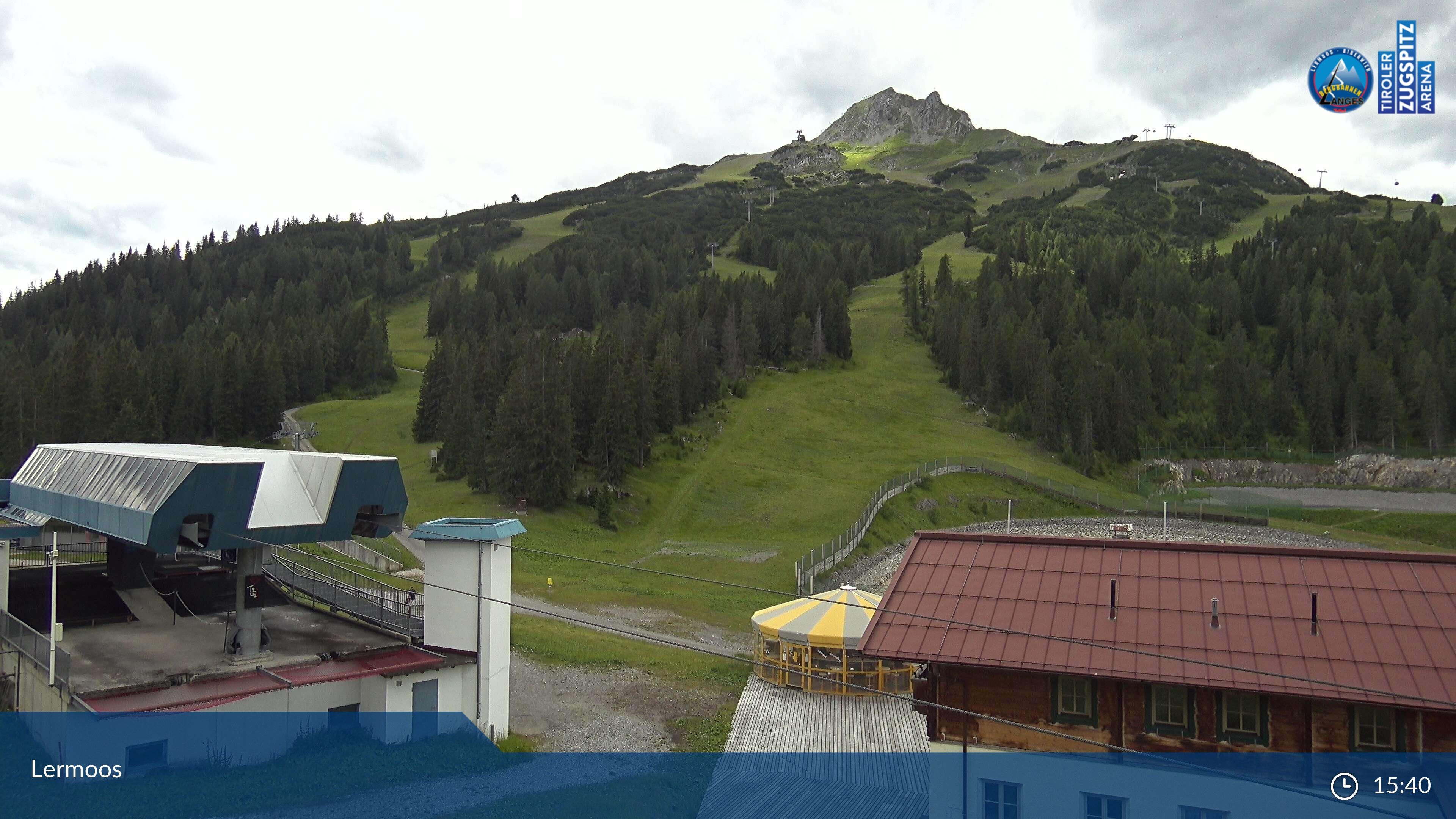 Lermoos webcam - ski station Grubig Alm