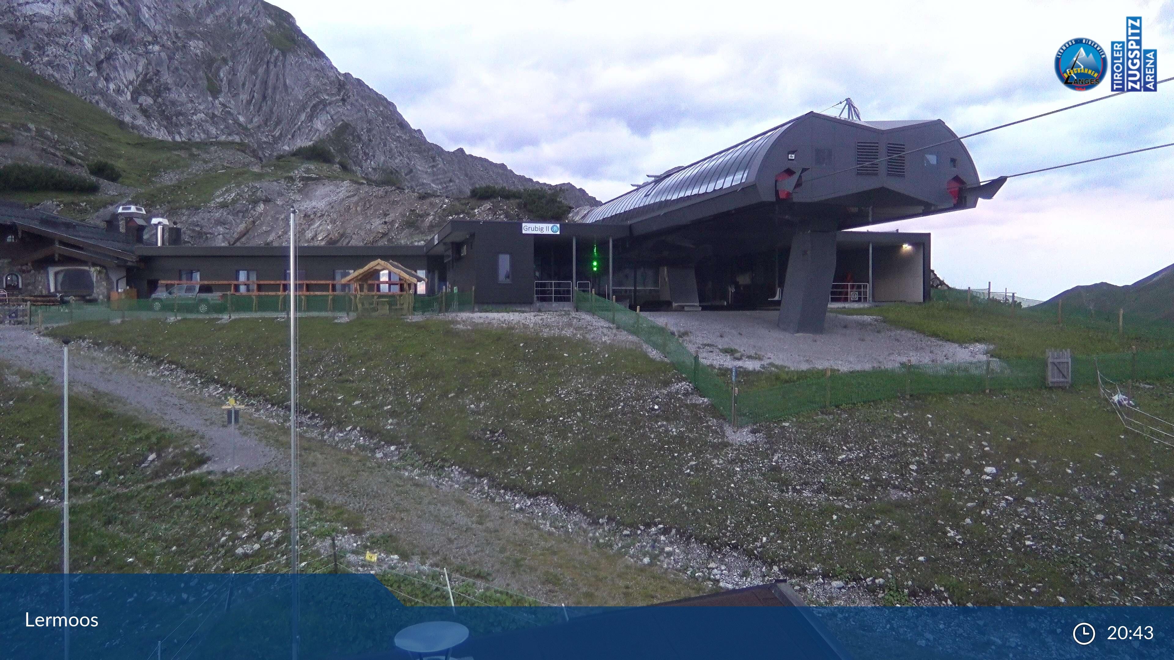 Lermoos webcam - Grubigstein ski station 2.015 m
