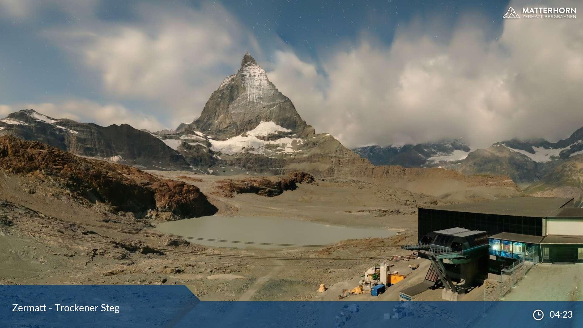 Zermatt webcam - Trockener Steg
