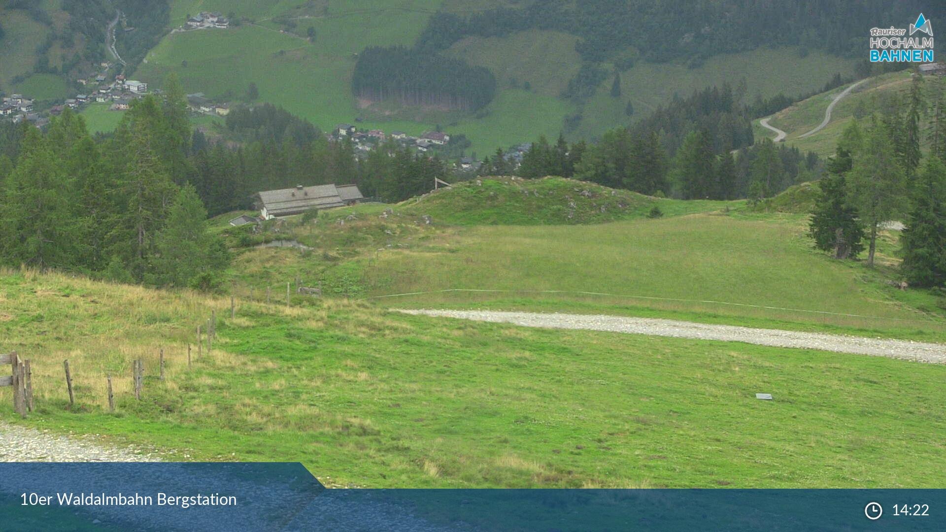 Rauris webcam - Rauriser ski station Waldalmbahn