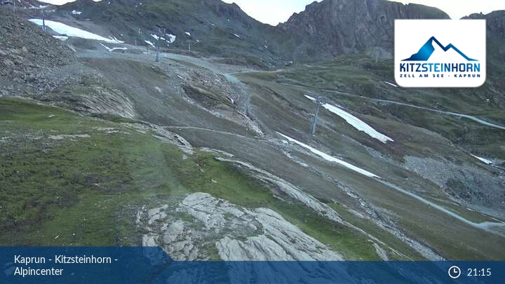 Kaprun-Kitzsteinhorn webcam - Alpin center 2.500 m