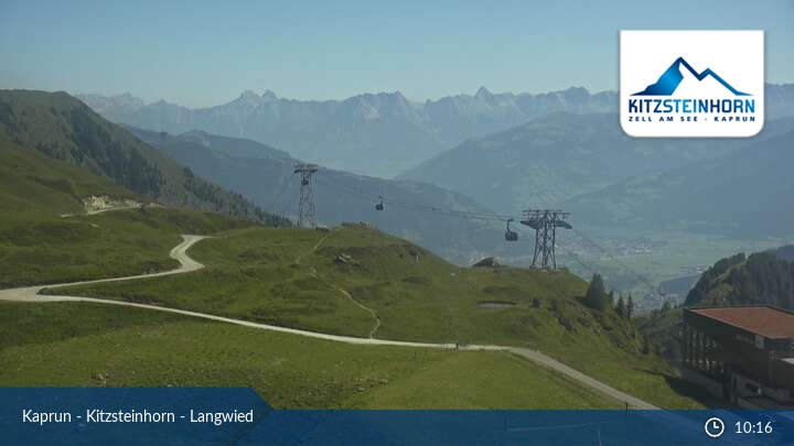 Kaprun-Kitzsteinhorn webcam - Langwied ski station 2.000 m
