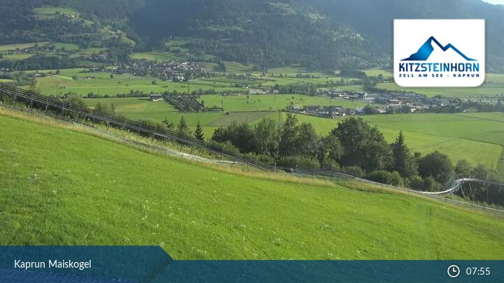 Maiskogel webcam - village panorama 870 m