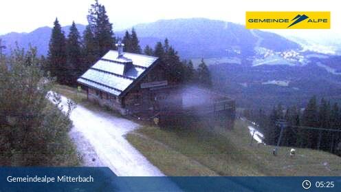 Gemeindealpe Mitterbach Mittelstation s´Balzplatzerl